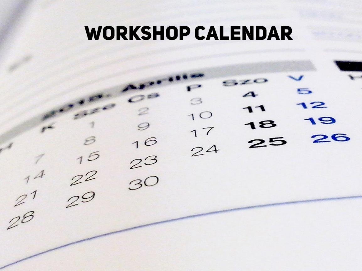 Dyslexia Workshop Dates 2018 –2019