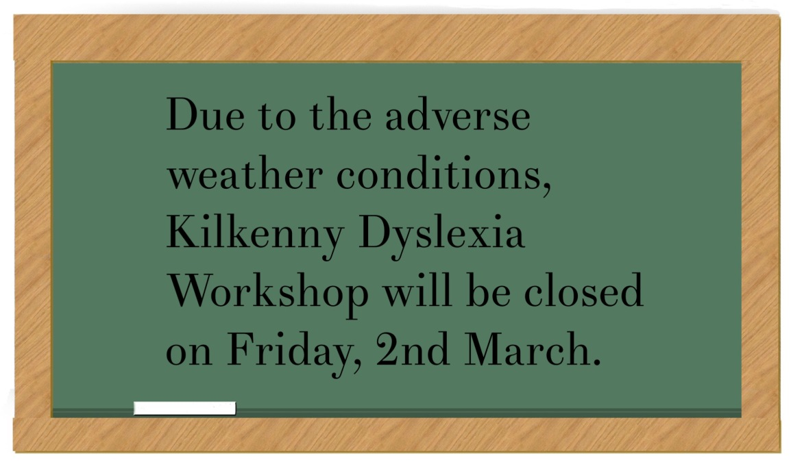 Workshop closed on 2nd March